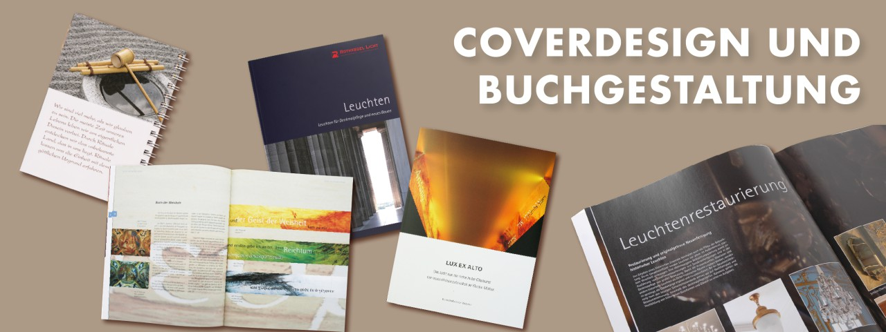 Coverdesign Buchdesign
